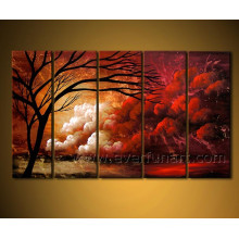 Landscape Oil Painting for Wall Decorative
