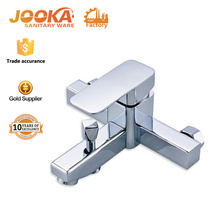 Modern square design single handle bath shower mixer