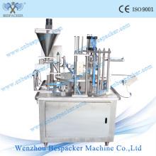 Máquina de sellado de llenado automática de taza de café K-Cup