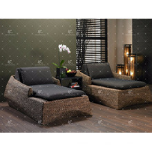 Bestseller Natürliches Wicker Wasser Hyazinthen Schlafzimmer Set für Indoor Möbel
