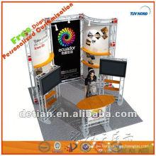 3x3 stand de exposición stand de aluminio cabina exposición diseño y exhibición de la construcción exhibir stand feria