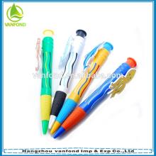 Профессиональных пользовательских гигантских Рождественский подарок ручка для продвижения