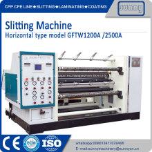 Máquina de rebobinado Jumbo Roll Slitter