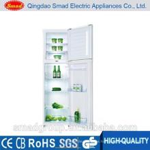 Gran capacidad de uso en el hogar de doble puerta superior congelador refrigerador precio