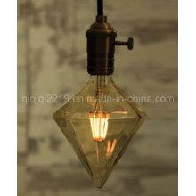 Lampadina di filamento del LED COB LED di diamante 5W