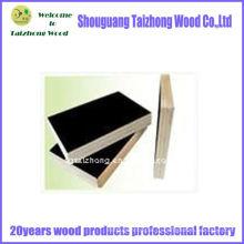18 мм черная пленка с фанерой из древесины твердых пород
