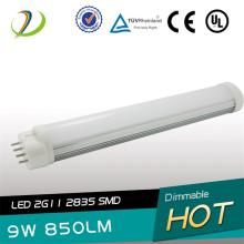 225mm Length LED 2G11 Tube 9W