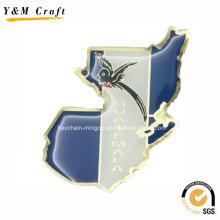 Kundenspezifisches Messingwaren-Druck-Foto-Magnet-Großverkauf Ym1071