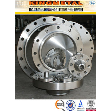 Encaixes de Flanges de tubulação de aço inoxidável AMSE/ANSI b 16.5 Wp304/316 Class150 RF/FF