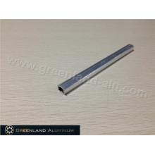 Aluminio Listello Trim con color plata brillante