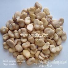 Crop Broad Bean von Hand geschält