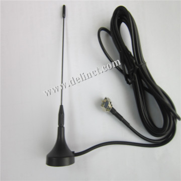 28*110mm Black GSM External Sucker Antenna