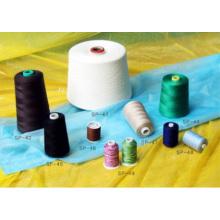 Linha de costura de algodão com bordado
