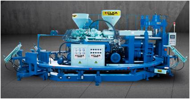 Double Color Rain Boot Molding Machine