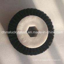 Cepillo de rodillo de agujero interior de hexágono del dispositivo de siembra de siembra (YY-419)