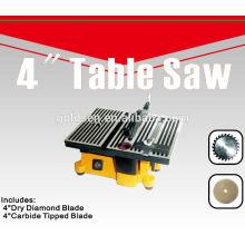 100mm 90W Electric Power Craft Hobby Petite scie à table de précision Scie à banc de 4 po mini