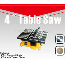 "100mm 90W Electric Power Craft Hobby Small Precision Table Saw Machine 4"" Mini Bench Saw"