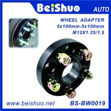 5 Holes Wheel Adaptor with Anodized Black Surface 5X100mm