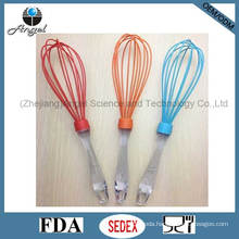 "12"" FDA Certification Silicone Egg Whisk with PS Handle Se02"