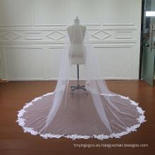Alta calidad boda velo una capa