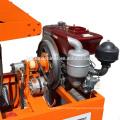 FL1-20 Diesel engine small scale production machine brick block making machine