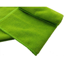 Microfiber Warp Knitted Fabric Cleaning Car Cloth