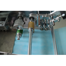 Máquina para fabricação de máscaras cirúrgicas descartáveis totalmente automáticas