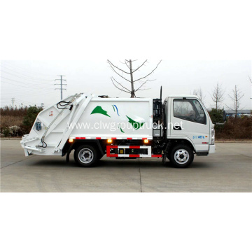 KAMA 75KW/102hp compact garbage truck