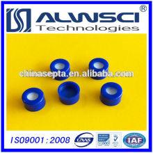 2015 tampas de plástico azul de 9mm