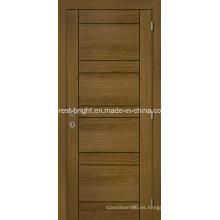 Diseños a ras de madera de la puerta principal de madera