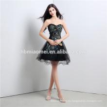 2017 venta caliente vestido de noche de la manera del invierno para las damas de honor oferta de diseño corto desgaste del partido del hombro vestido de noche de las mujeres