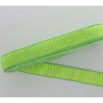 Fashional 4,5 cm netzbasierte Paillettenspitzenbesatz für Kleidungsstücke / Taschen