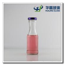 Xuzhou 200ml Clear Empty Glass Juice Bottle