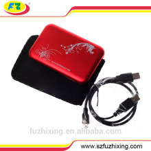 USB 2.0 SATA Hard Disk Case HDD Hard Case Box