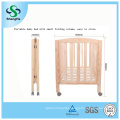 Two Colors Pine Baby Bed