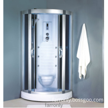 low tray massage shower cabin