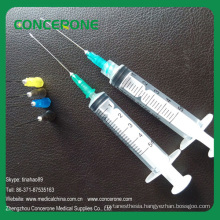 Disposable Hypodermic Syringe with Needle