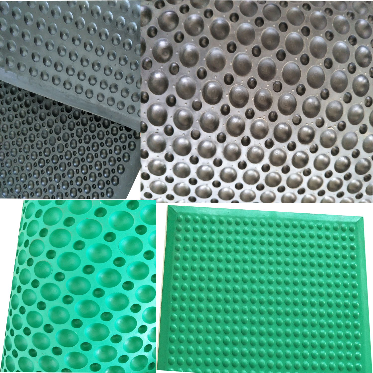 Rubber mat for flooring