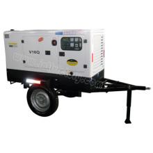 10kVA ~ 70kVA Remolque montado estación de generador de energía diesel móvil con certificaciones CE / Soncap / Ciq