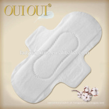 Natural cotton breathable sanitary pads for women from China factory