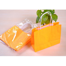 Colorful Paper Shopping Bag for Garment Packaging