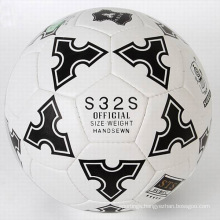 Full color printing machine stitched promotional soccer ball