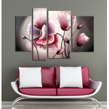 Peinture à l'huile nouvelle fleur de design