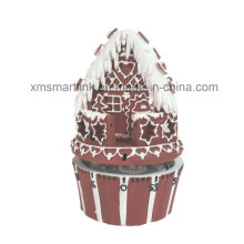 Poly Resin Gingerbread House 60min Kitchen Timer