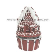 Poly Resin Gingerbread House Temporizador de cozinha 60min