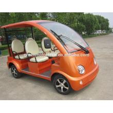 Hochwertiger 4-Rad 6-Sitzer elektrischer Sightseeing-Bus für Club