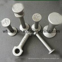 Goujon de levage de béton préfabriqué / ancre sphérique principale d'oeil pour le matériel de construction (1.3T-32T)