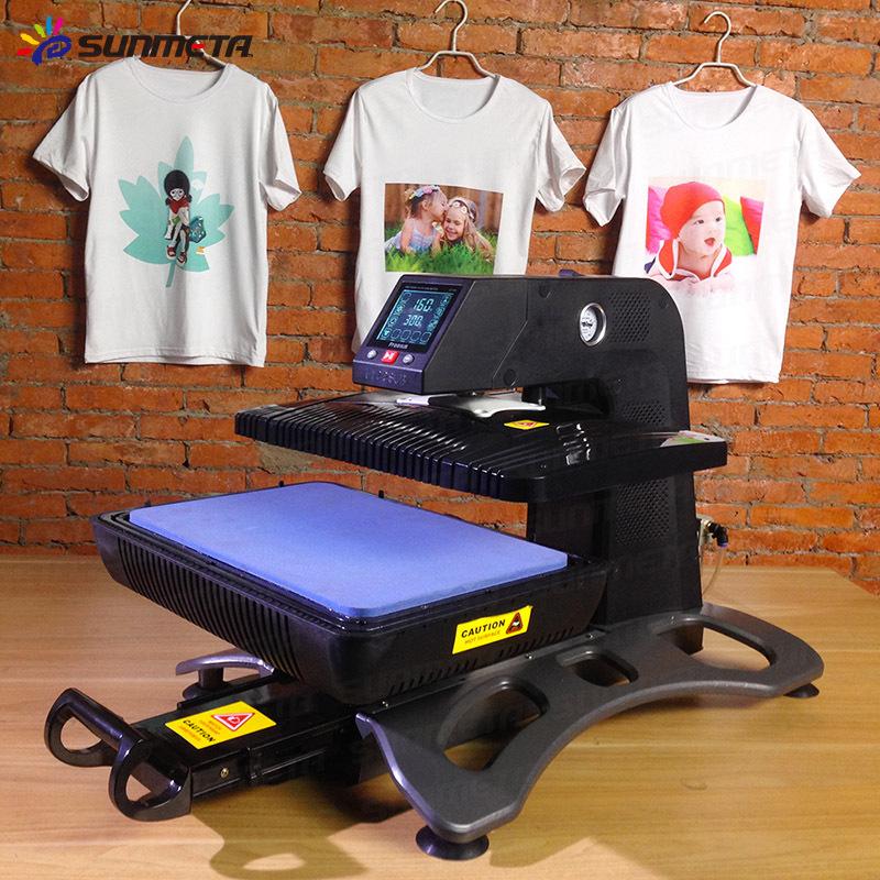 Automatic T Shirt Heat Press Machine Price China Manufacturer