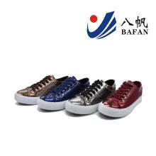 2016 femmes Lady Fashion basses chaussures de toile (BF-609)