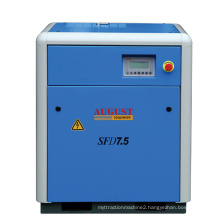 7.5kw/10HP August Stationary Air Cooled Screw Compressor